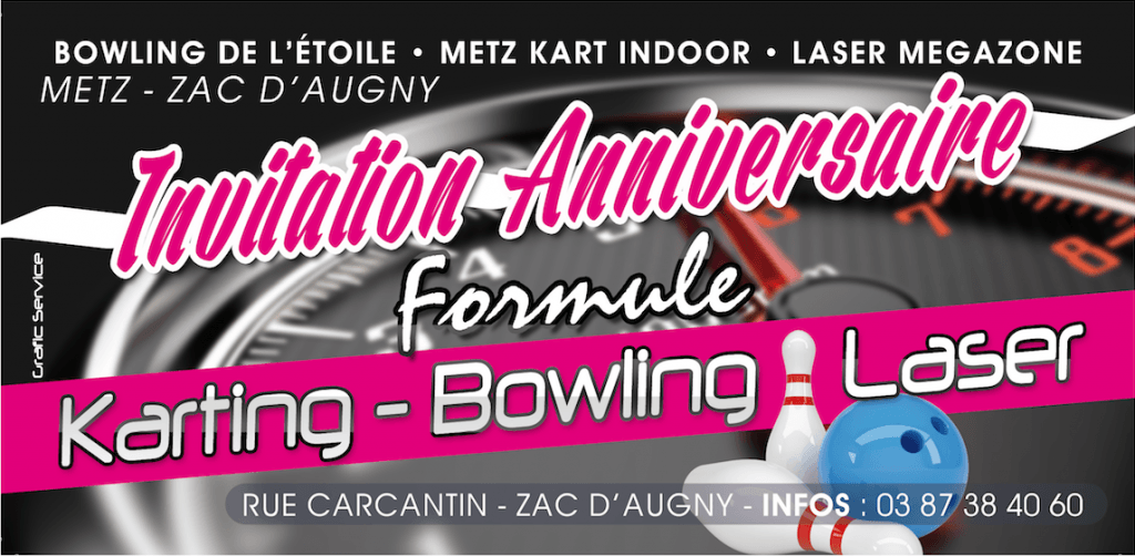 anniversaire bowling augny