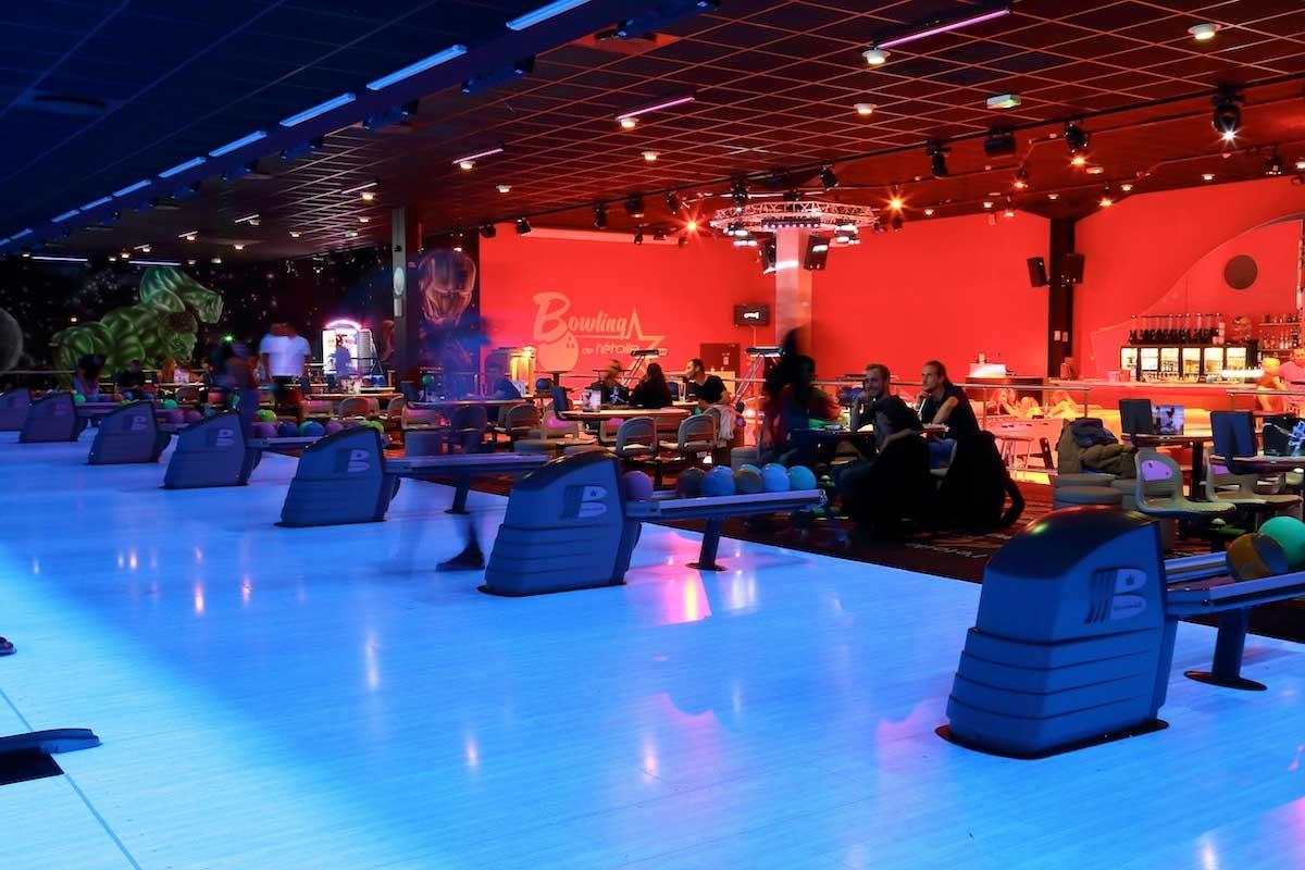 slider-bowling de l'étoile - metz - moselle