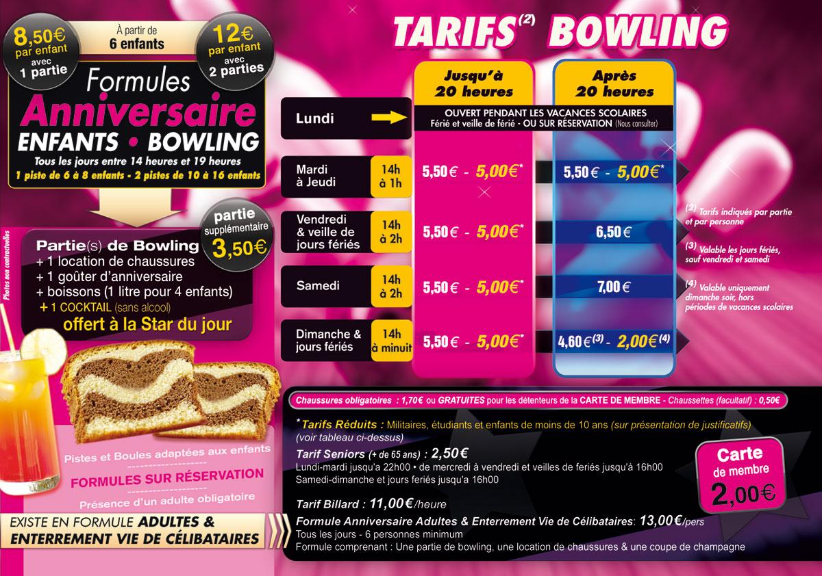 bowling de l'étoile - augny