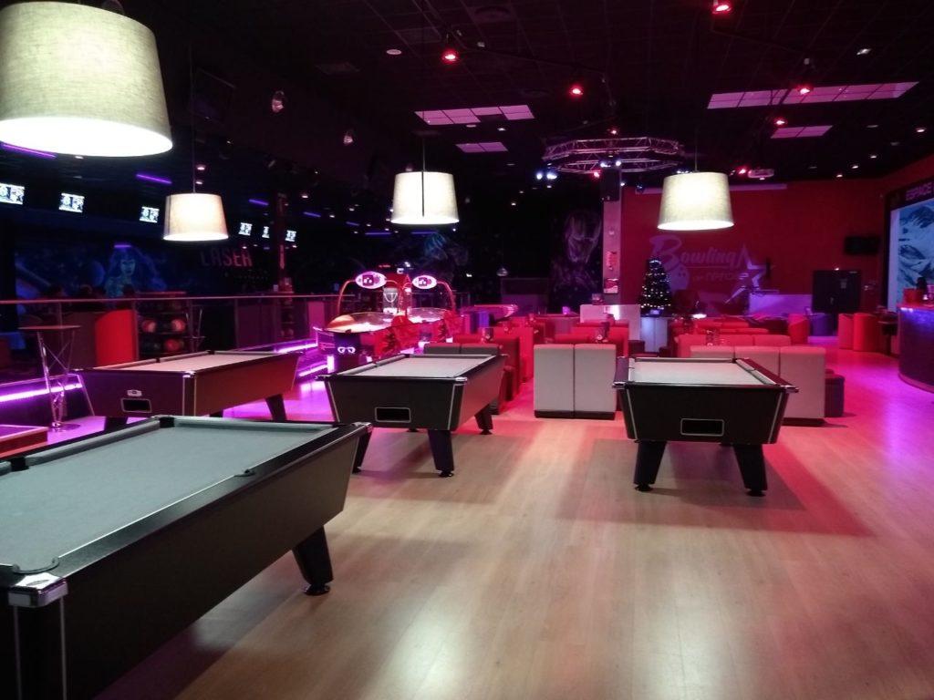 bowling de l'étoile - espace billards